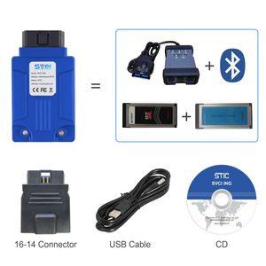 OBD2 موصل svci جي المهنية أداة تشخيصية يغطي جميع الأدوات سيارة إنفينيتي / نيسان / GTR بلوتوث التشخيص