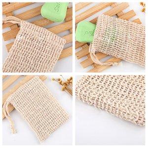 9*14cm make bubble soap bags, Foaming net soap storage bags, drawstring bags, bath products, bath toilet productsT2I5108