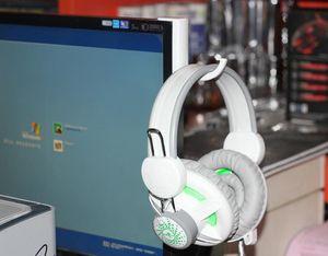 Kopfhörer-Halter-Aufhänger Wand PC Monitorständer Durable Kopfhörer Zubehör Headset Aufhänger PC Monitor Halter-Standplatz