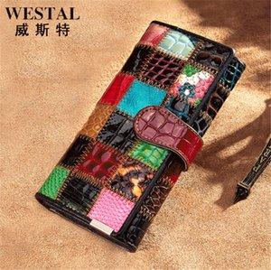 CLEMENCE Femmes WALLET PORTEFEUILLE de haute qualité Iconic Fashion long Wallet Porte-monnaie Porte-cartes Marron imperméable Toile Blanc M60742