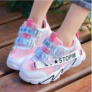los zapatos para niños de malla deportes corrientes respirables zapatos casuales antideslizante ligero zapatos casuales para niños y niñas