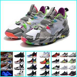 2020 nuevos zapatos para hombre PF Russell Westbrook III ¿Por qué no Zero.3 Baloncesto 2019 zapatillas de deporte II cero 2 formadores de diseño originales Tamaño de los EEUU 40-46