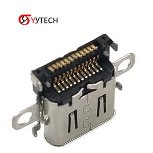 puerto de carga SYYTECH Nuevo precio de fábrica original del interruptor de alimentación del zócalo de gato conector del enchufe del cargador para Nintendo