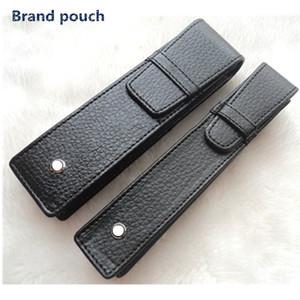 Top qualidade do couro artificial Atacado PU MB Pen Caso Stationery Office de alta qualidade Pen Bolsa Marca Bag Lápis
