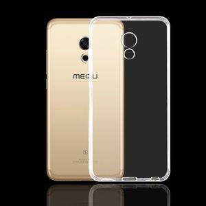 Metta per Meizu Pro 6 molle libera copertura posteriore per il Meizu casi Pro 6S silicone protettiva Mobile Phone Skins Coque
