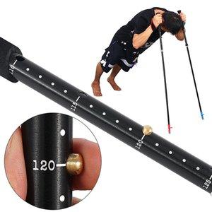 Hiking Portable Walking Stick Running Four-section Quick Lock Aluminium Alloy Telescopic Wear Resistant Folding Trekking Pole