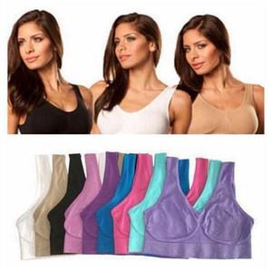 Ahh Bras Mulheres Yoga Forma Sports Bras aptidão Seamless pulôver Bra Corpo Microfibra Correndo Bra Sexy Gym Bras moda Vest Underwear B5978Q