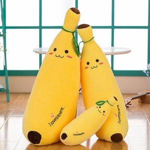 Creative Software Banana Doll Simulation Fruit portefeuille Oreiller coton doux en peluche Coussin cadeau d'anniversaire