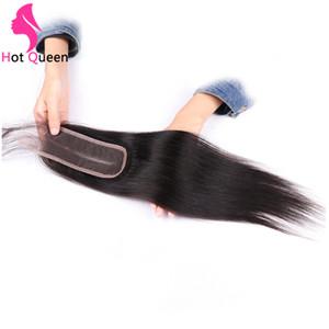 KBL 2x6inch Puruvian Pervian закрытие волос прямой человек 1 пучок глубокой средней части линии коричневый швейцарский шнурок ISHOW ROSA BEAUTY SEXY
