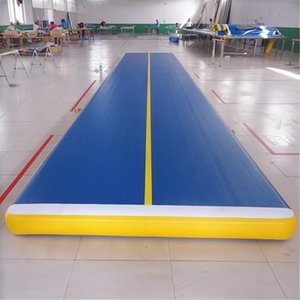 Kommen Sie mit einer Pumpe 4x1x0.2m Inflatable Gymnastikmatte Air Track Taekwondo Boden Tumbling Mat Martial Arts Training Air Cushion