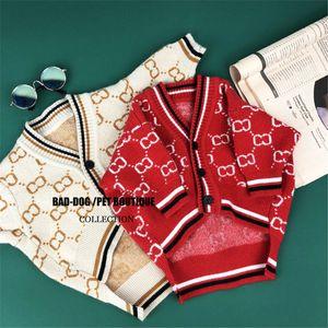 Tide Brief gedruckt Haustiere Pullover Mode Warm-Muster Haustier Sweatshirts Persönlichkeit klassisch Teddy Schnazuer Festival Bekleidung