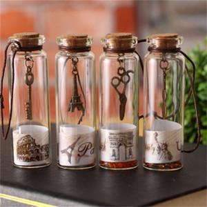 معدن مفتاح الكمان تنجرف زجاجة مشهد كورك لاكي رغبة زجاجات زجاج هدية السفر الساخن بيع متعدد النمط 0 55dc H1