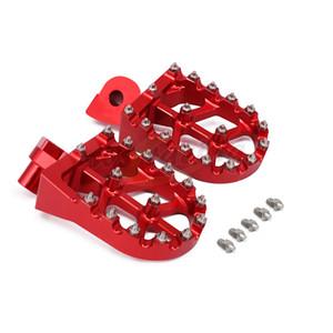 Moto billettes MX large pied Pegs pédales Rest Repose-pieds pour WR Husqvarna SMR TC TE TXC 400 449 450 360 510 511 570 610 TC450