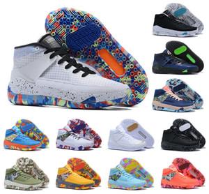 Yeni 2020 Kevin Durant XIII KD 13 13S Erkek Çok Renkli KD13 Eğitmenler Yakınlaştırma Basketbol Ayakkabı Elit Spor Sneakers ABD 7-12