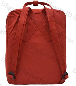 Top Sell Crimson Fjallraven Kanken portatile dello zaino dei bambini Zaino Piccolo Zaino all'ingrosso