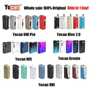 Cigarette Kit [1PC] Оригинальный Yocan UNI Pro Wit Hive 2,0 Гроот Box Mod Vape Pen E Wax Vape Pen Fit All Vape картридж