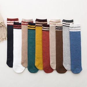 20 Pairs set Autumn New Japanese Style Girl Socks Wholesale Cotton Lady Breathable Striped Stock Women Socks Girl Wholesale