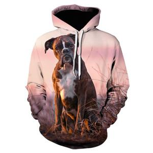 2020 animaux Mode Pitbull Pour Haters 3D Full Print Hoodie Hommes Femmes Harajuku Casual Pet Dog Design Manteau à capuchon Drop Shipping