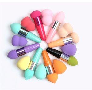 El más nuevo maquillaje Maange 2 Pcs Esponja Cepillos BB Cream Base de Maquillaje Corrector Esponja Puffs para las mujeres hacer herramientas Hasta Puff Cosméticos