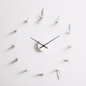 alta calidad de los productos de decoración del hogar YOYIHOME Nueva Swallow artesanal Reloj moderno reloj de pared de diseño buen regalo