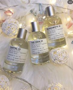 New York Marca Neutral perfume Le Labo 100ML Santal 33 Bergamote 22 Rose 31 A Noir 29 de alta qualidade duradoura Woody Aroma fragrância