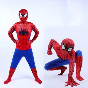 Halloween bébé vêtements enfants Cosplay barboteuse COS Spider Costumes Scène Performance Superhero Body Combinaisons Enfants Designer Vêtements M354