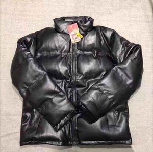 Harfler WINDBREAKER Coats Spor Coat Parkas ile Mens Aşağı ceket sıcak İçin Deri Ceket Giyim M-XL Tops