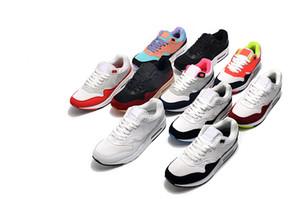 2020 Nike air max airmax 87 Hombres Maxes 1 Aniversario 87 Encubierto Zapatos para correr para mujer Paquete de animales 1s 87s Zapatos clásicos Entrenadores 36-45