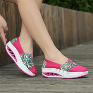 acheter style chinois brodé Chic Low Top Loisirs Croix Tie Sport à lacets carrée chaussures à talons ethniques Toile Mode