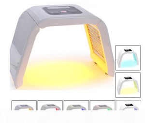 7 Light LED Facial Mask OMEGA Light Photon Therapy Machine For body face skin rejuvenation Acne Freckle Removal salon beauty