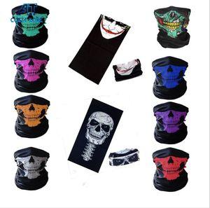 230 Stiller Hip Hop Kafatası bandanas Sihirli Başörtüsü Açık Binme Dikişsiz Yüz Maskeleri Tüp Boyun Türban sihirli Kafa bandanalar yazdır