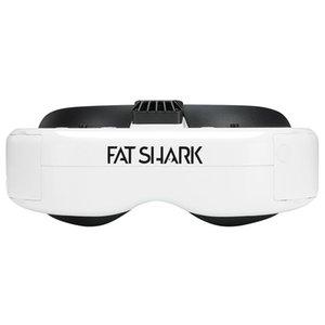 Fatshark Dominator HDO2 гарнитур Sony OLED-дисплей 5.8GHz Диверситивные FPV Goggles фокусировки и IPD корректирующей поддержки DVR HDMI - Белый