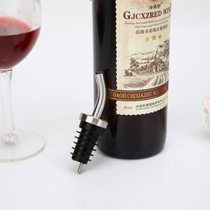 Stopper Creative Vin rouge Vins en acier inoxydable Métal verseurs Bar Bouteille Accessoires Stoppers Hot Vente 2 8yr E1