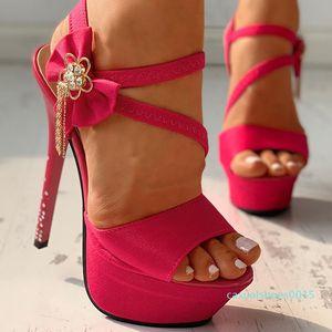 Doratasia 2020 Wholesale Top Quality Fetish High Heels Sandals Women Chains Platform Sexy Party Wedding Shoes Woman c15