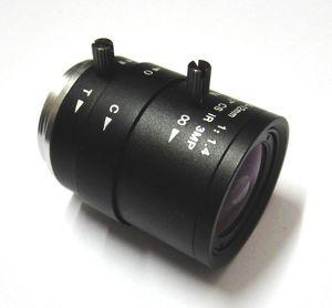 "HD 3MP 2.8-12mm CCTV Lente CS Mount manual Focal IR 1 / 2.7 ""1: 1.4 F1.4 para câmera IP"