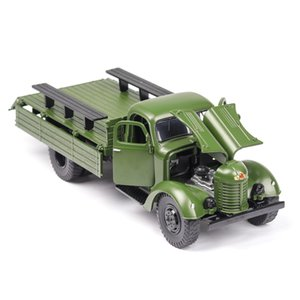 (Boxed) military truck models car models ornaments ca10 simulation model toy car model sound and light open mixed batch