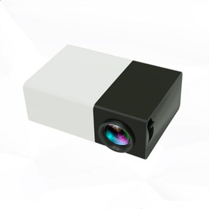 2019 YG300 LED Portable Projector 400-600LM 3.5mm Audio 320 x 240 Pixels YG-300 HDMI USB Mini Projector Home Media Player cheap sale