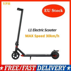 전면 및 후면 라이트와 Fortable 전기 스쿠터 L1 어린이 성인 접는 자전거 도로 자체 균형 36V 7.5Ah 전기 스쿠터