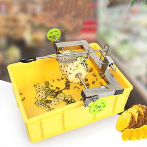 Manuel ananas soyma makinesi paslanmaz çelik ticari ananas soyucu kesici manuel ananas göz sökücü bıçak verimlilik araçları