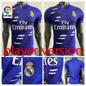 версия Игрок 2020 Реал Limited Edition футбол Джерси EA 20 21 SERGIO RAMOS футбол рубашка ZIDANE опасности ISCO Форма футбольная