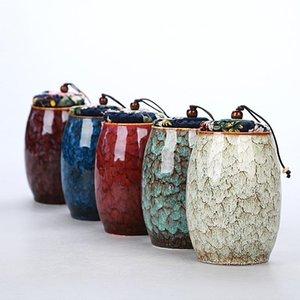 Portable Jar Tea Caddy bagagli forno ceramico Tea Caddies Tea Set Accessori Teaware Accessori Home Decor