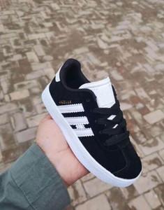 Nova Moda crianças gazelas meninos meninas sapato Para o bebê pai criança crianças samba formadores sapatilha ao ar livre Designer de calçados infantis