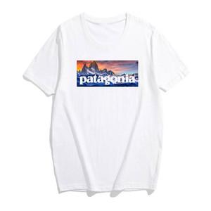19ss 남성 디자이너 t 셔츠 반소매 목 스판덱스 남성 셔츠 슬림 부드러운 남성 티셔츠 DHBOMC156