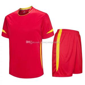 Red Men calcio maglie caldo di vendita abbigliamento outdoor Calcio indossare maglie 2019 di alta qualità
