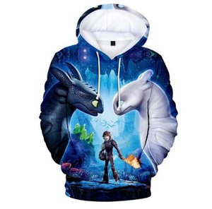 New Hot New kids 3D Print Hoodies Sweatshirt childen How To Train Your Dragon 3T Shirt Chothing For Boys Girls High Qualiet