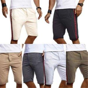 New Designer Summer Running Shorts Men Solid Color Sports Jogging Fitness Shorts Beaching Briefs Mens Training Workout Short Pants