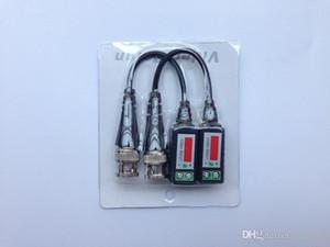 200pcs витой CCTV видео Balun пассивных приемопередатчики 300meters Расстояние UTP балун Кабель BNC Cat5 CCTV UTP балун видео