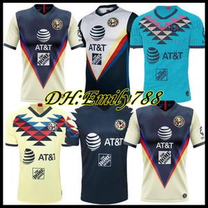 2020 2021 Club America Soccer Jerseys F. Vinas Henry Liga MX 20 21 رودريغيز أميريكا جيرسي حارس مرمى Giovani رجالي R.Martinez كرة القدم قميص