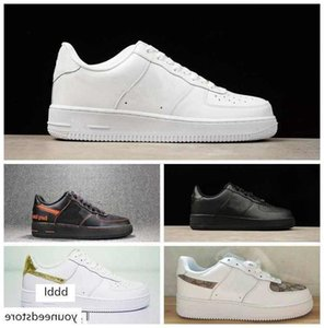 2017 New One 1 Dunk Men Women casual Shoes,Sports Skateboarding Shoes High Low Cut White Black Outdoor Trainers Sneakers