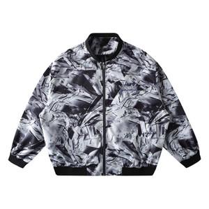 Autumn Hip Hop Letter embroidery Cargo Baseball Jackets Men 2020 Harajuku Streewear Loose Tops Zip Track Jacket Oversize